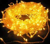 <b>Yellow 144 Superbright LED String πολλαπλών φώτα Clear Cable 24V Χαμηλής Τάσης</b> Yellow 144 Superbright LED String πολλαπλών φώτα Clear Cable - LED φώτα Stringmade in china